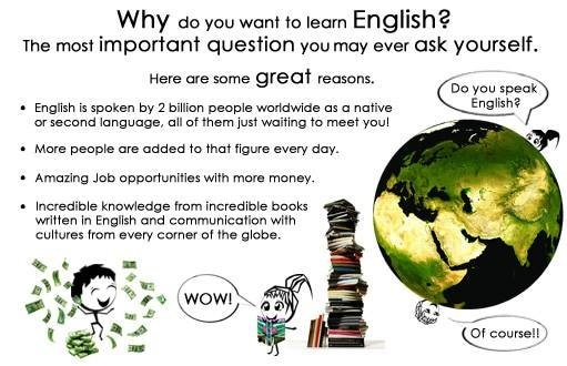 the importance of learning english language The importance of learning english english is an international language true to say that the world cannot go for a single day without english it is widely spoken and written language in the world.