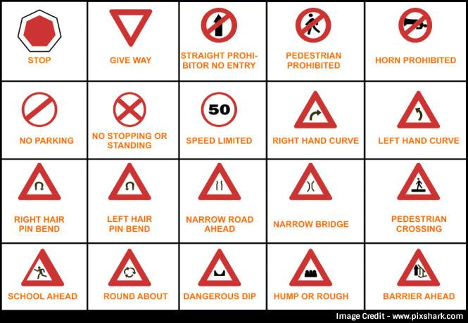 Display Lettering amp Symbols Roads  AZ A4 display