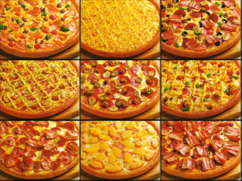 Italian Pizzas Are Available.