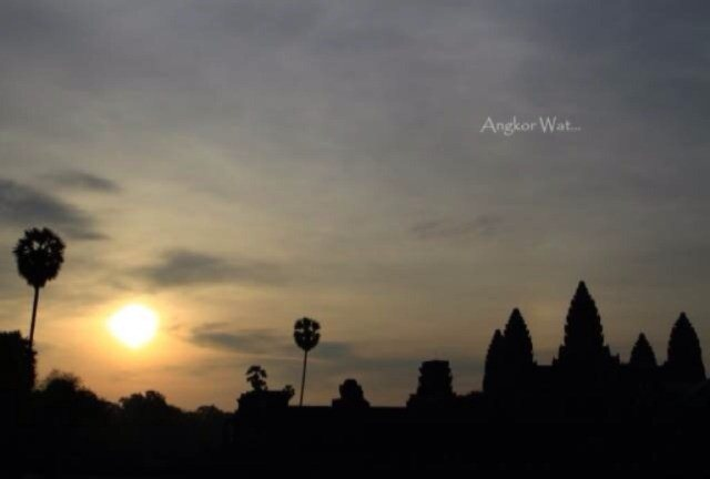 The most charming temple - Angkor Wat - is waiting for your visit.  www.angkoradventuretaxi.com