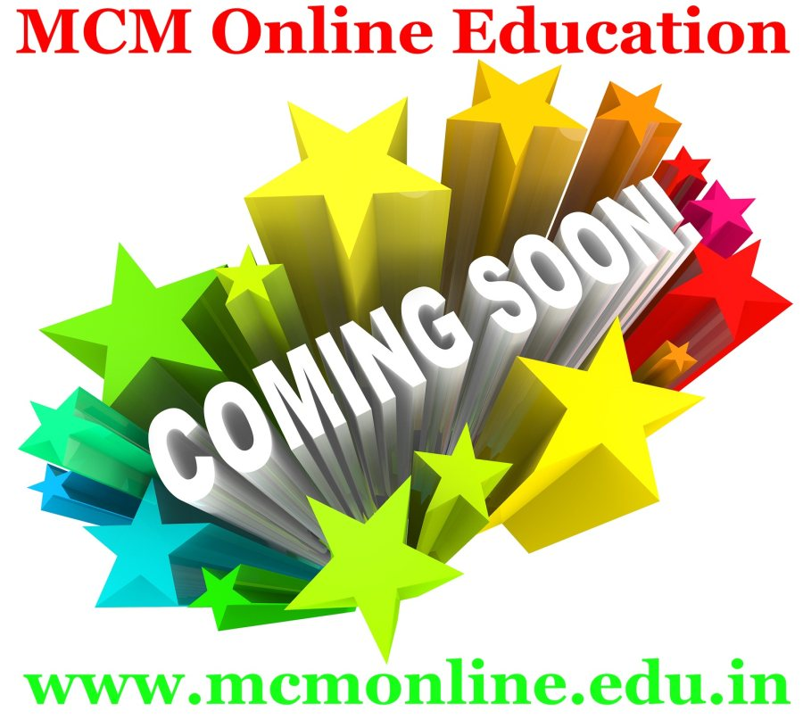 #My_Career_Mantra (MCM) *Online Education with a new website www.mcmonline.edu.in is coming soon on 26th of July . Online education is a method of delivering educational information via the internet instead of in a physical classroom. You can study at home or at work - wherever you like, whenever you like, within a prescribed time frame. However, if you're looking to get ahead or even change your career path, or are looking for a formal qualification in an area of personal interest to you, an online education is a way of achieving this without sacrificing your lifestyle as much as a campus-based education would require you to. In the US, online learning is quickly becoming mainstream. Europe has been slower to catch on, but we're seeing more of the established European universities respond to the increasing demand for an online method of studying their programmes. Let's come with #MCM_ONLINE_EDUCATION grow your higher education.