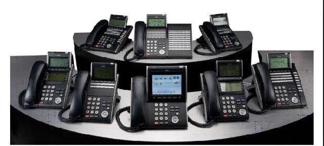 Panasonic NEC key telephone and accessories