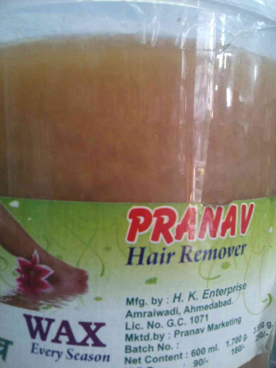 We have a best wax for hair removing.
