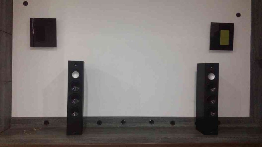 Paradigm floor standing speakers