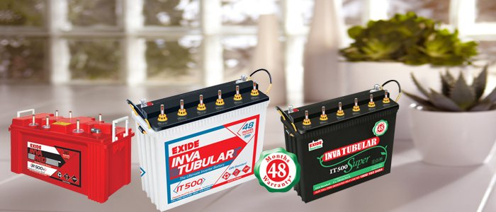 We deal will with all kind of Exide batteries and inverters for commercial purpose or for Big manufacturing companies and also home purpose. If you want a power back for any of these requirement please get in touch with us. We will help you based on your requirement.