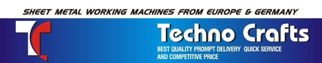 Sheet Metal Working Machines From Europe & Germany. Dealers in Pune