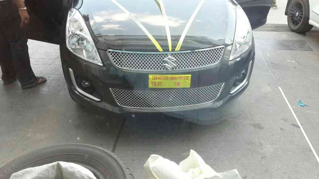 Chrome grill just to make ur car look better.available for more than 20 cars @ motominds