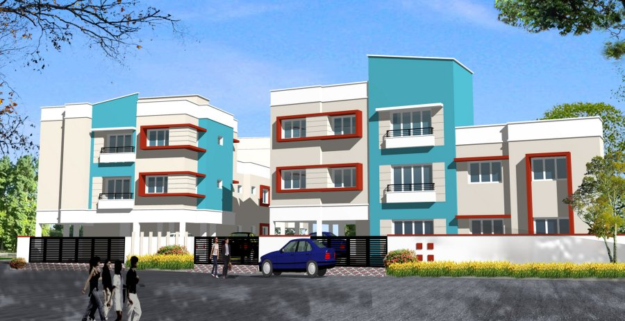 Rs 3490/- sft .Ready to occupy Flats  Near Pallavaram.Gurukripa Apartments, 10 mins drive to Guindy and chrompet.Please Contact 9884487001. www.srushti.com.