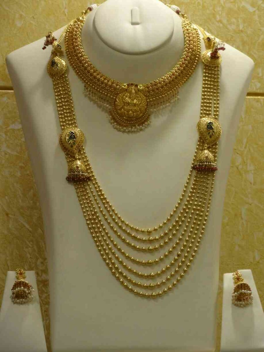 One best collection of designer Gold necklace in Nagpur