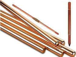 Copper Bonded Electrode manufacturer in lucknow  Hot dip galvanized for corrosion protection Designed for fast fault currentdissipation Low maintenance on site Easy & fast installation on site Most suitable for soil conditon with pH value between 5.0 & 8.0 Moisture Booster Checmical Bags provided for low earth resistance.   In the same manner True Power comes in wide range size wise copper bonded electrode in market various type of plating available but true power had launched tremendous solutions in Earthing market