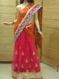 We have all type of wedding sarees in indore