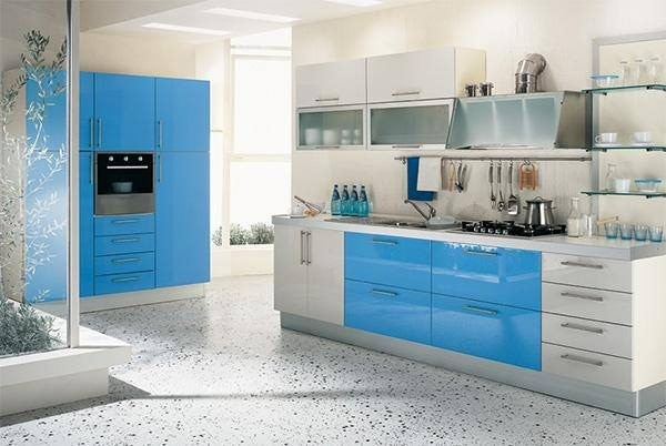 [Steel Kitchens]  10 Vastu Rules to Follow in Kitchen  1. The kitchen should not be located under or above the pooja room, toilet or bedroom. It should ideally be in the South-East corner of the main building or flat.  2. The main kitchen platform should be in the East or South-East corner of the house.  3. The stove or gas burner should be placed in the South-East corner, a few inches away from the wall.  4. An extension of the kitchen platform, in an 'L' shape, near the South wall for keeping electric appliances like a microwave oven, mixer, grinder etc. would be very auspicious.  5. The wash basin (sink) of the platform should be in the north-east corner as far as possible. The pitcher for the drinking water and related utensils should be in placed in the North-East or the North side of the kitchen.  6. Storage boxes for essential commodities like grain, spices, pulses etc. should be kept in the South or the West direction.  7. The entrance door of the kitchen should not be in any of the corners. Kitchen doors in the East, the North and the West are best suited.  8. The gas burner should not be right in front of the main door of the kitchen.  9. There should be one or two windows or air vents in the East and the West directions of the kitchen. An exhaust fan installed in this vent would be very useful.  10. If there is a dining table in the kitchen, it should be placed in the North-West or the West side.      Planning Modular Kitchen for your Sweet home??  Check out : www.steelmodularkitchens.com  for more tips.