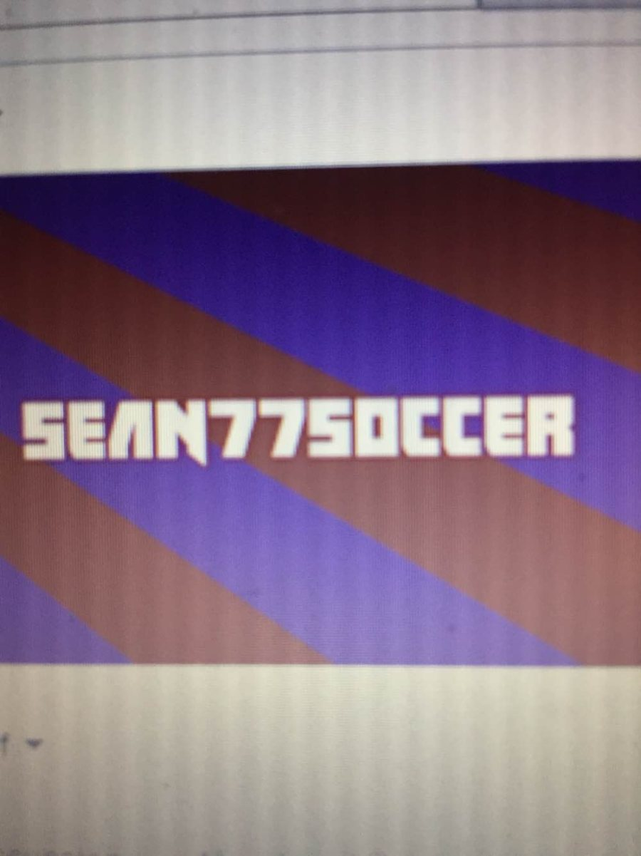 Sean77soccer Games will start trying to be more professional