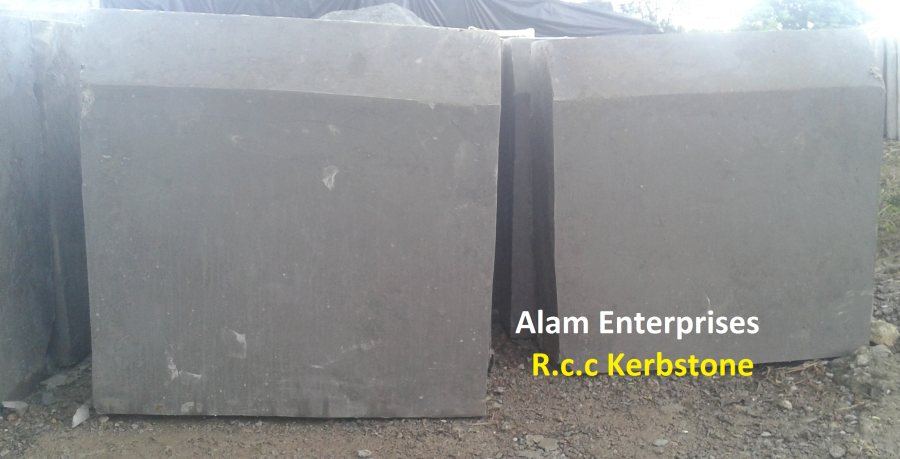 RCC Kerb Stone We are a leading firm offering RCC Kerb Stone to our clients. The product is manufactured using quality components under the supervision of our skilled workers in compliance to the standards that runs in the industry. To ensure its high quality, durability and reliability, we test our products on various parameters using advanced technology and hi-tech machines. We offer it in wide range of specifications as well.  Features:      Fine finish     Precise design     Sturdy constructio