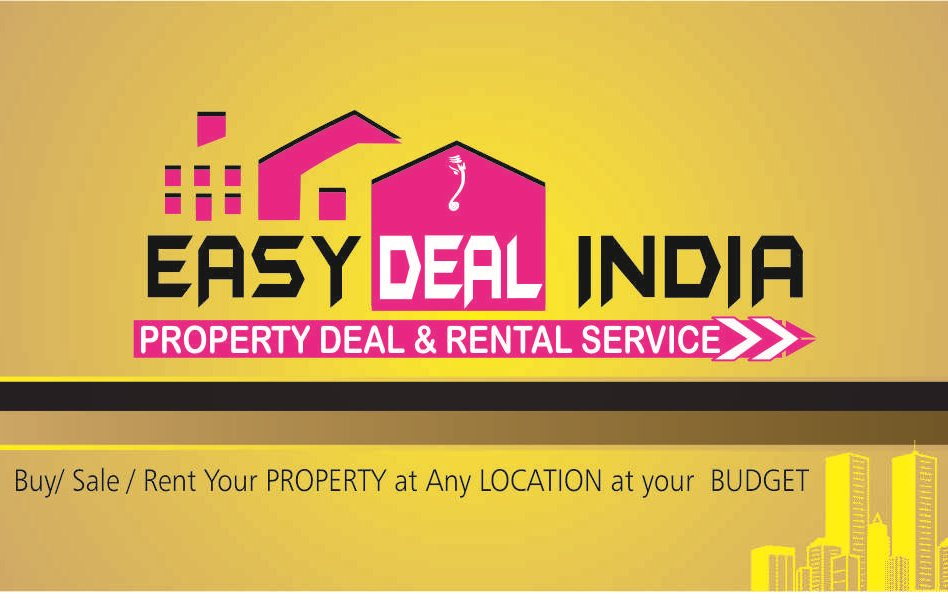 Buy Sell Or Rent your Property Here! We are the trusted brand name in Real Estates from last 8 years.. Easy Deal India is a platform where all your Residential and Commericial property needs come true easily...
