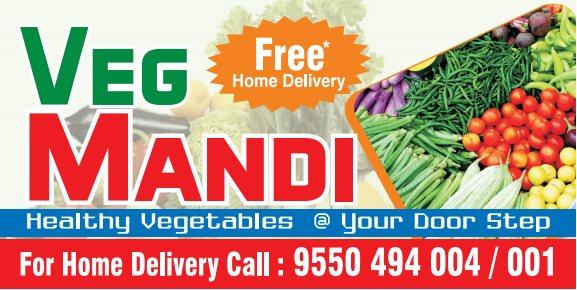 Fresh Vegetables at Ur Door Step.  For Free Home Delivery