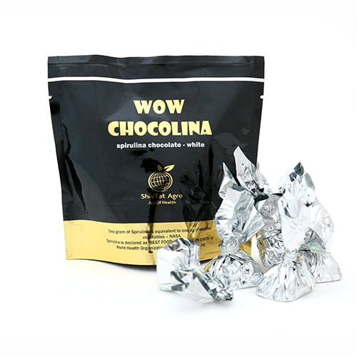 For the choosy creamy taste buds, here comes the creamy White Chocolate Blended With Spirulina...