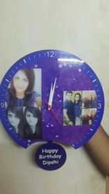 Customised wall clocks