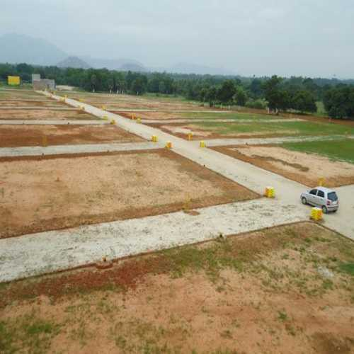 Features: VUDA Approved Layout Attractive Arch with Gated Community All 40' wide black top roads    Electricity with Street Lighting 100 percent Vaastu Underground Drainage Avenue Plantation with curbstones Children Play Area Park Spot registration and Clear Title 24 hrs. Security Highlights:  11 Acres mega venture. Just 35 mints drive from Vizag City. 2 km to NH-5 (Proposed to 6 lane) & 6km to Beach. Surrounded by IT Corridors, Gum City, 900 Acres Miracle Software & training center and 6 Engineering colleges. Proposed NAVY NAD Jn., at Bhogapuram Near to AP Film Studios. Close to Proposed IT Signature Towers and Prestigious ITIR. Very close to Engineering Science & Technology Research Center Located in the area of fast growing Satellite Townships and Recreational Zone. Near to Highway International Shopping Centrally located to 3 District Head Quarters (SKLM/ VZM/ VSP). 5 km drive to International school.
