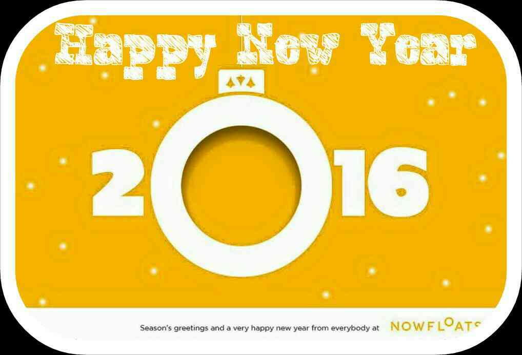 Happy New Year 2016 from My Webbizz partner of NowFloats
