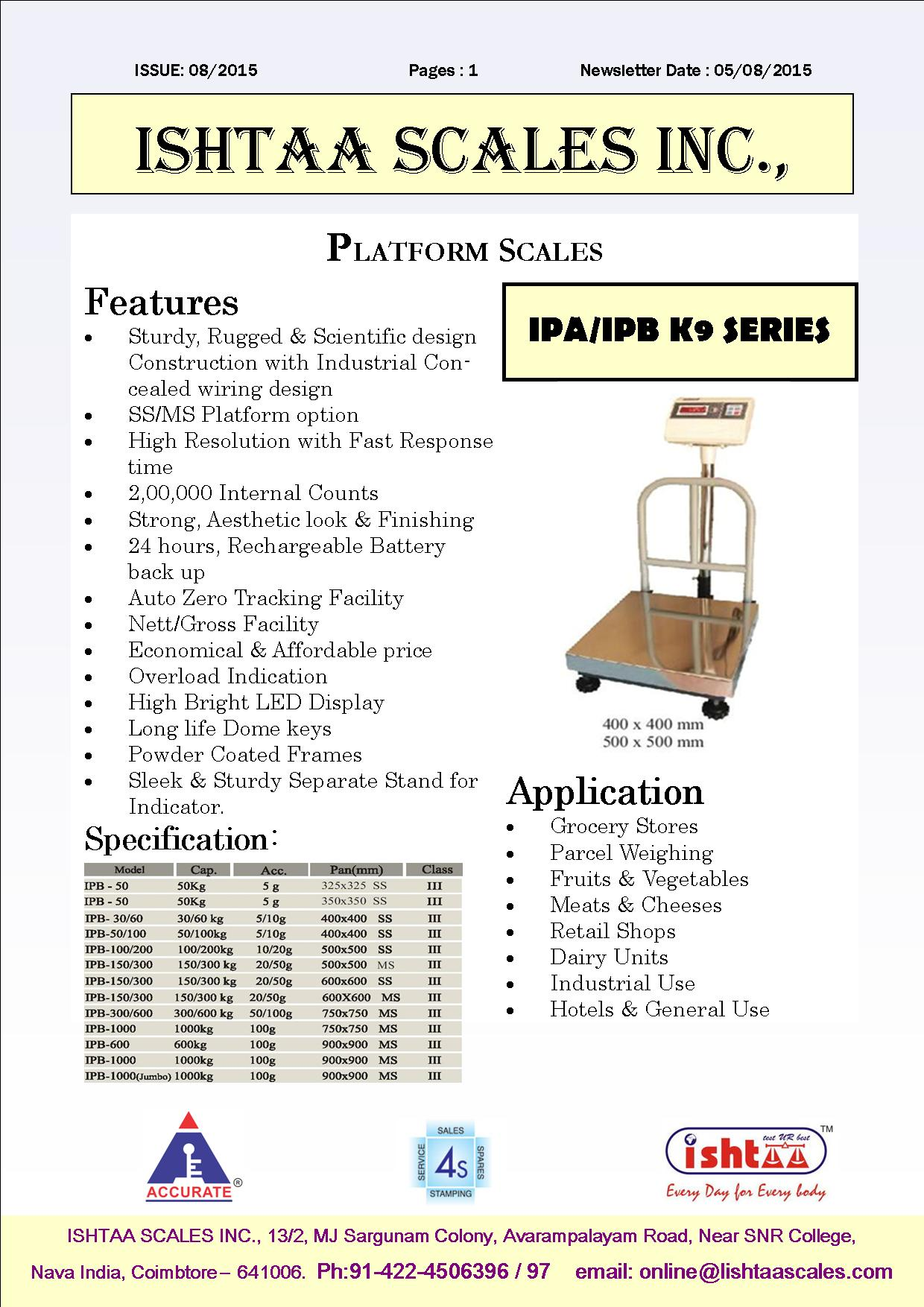 Best Industrial Weighing Scale Weighing Scales for Heavy Duty Applications Electronic Weighing Scales at Best Price Weighing Scales for Markets Weighing Scales for Parcel Services Logistics Weighing Scales Wooden Box Weighing Scales Wholesale Weighing Scale  Buy now at Accurate Ishtaa Coimbatore