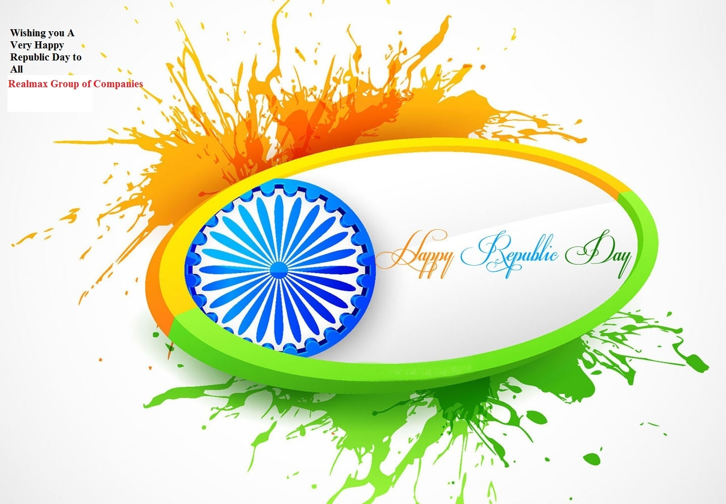 Wishing you Happy Republic Day to All - Buy House/Villas/Plot