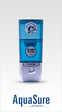 Water Purifiers from Eureka Forbes combine the best of technology and expertise to provide a wide range of products that give utmost purity and supreme quality.