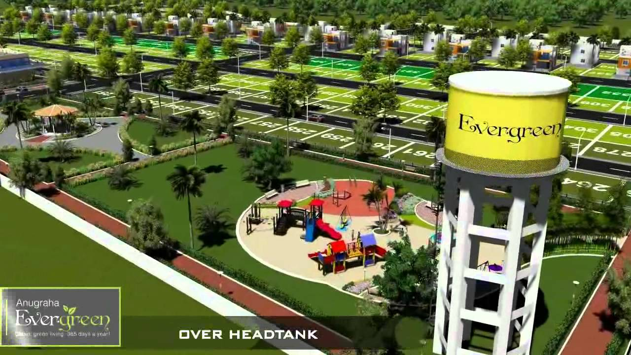 ANUGRAHA EVERGREEN offers a choice of independent residential plots in a range of sizes, set amidst  green spaces and landscaping and rich with the beauty of evergreen views and clean pure air all year round.