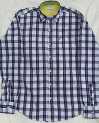 Our company is engaged in providing Check Mens Casual Shirt. Designed ergonomically keeping in mind the changing fashion in industry offered products comes in a rich assortment of shades and sizes so customer can easily opt the one what he want to go for. We never compromise with our product quality, which help us to gain maximum level of satisfaction of our valuable clients