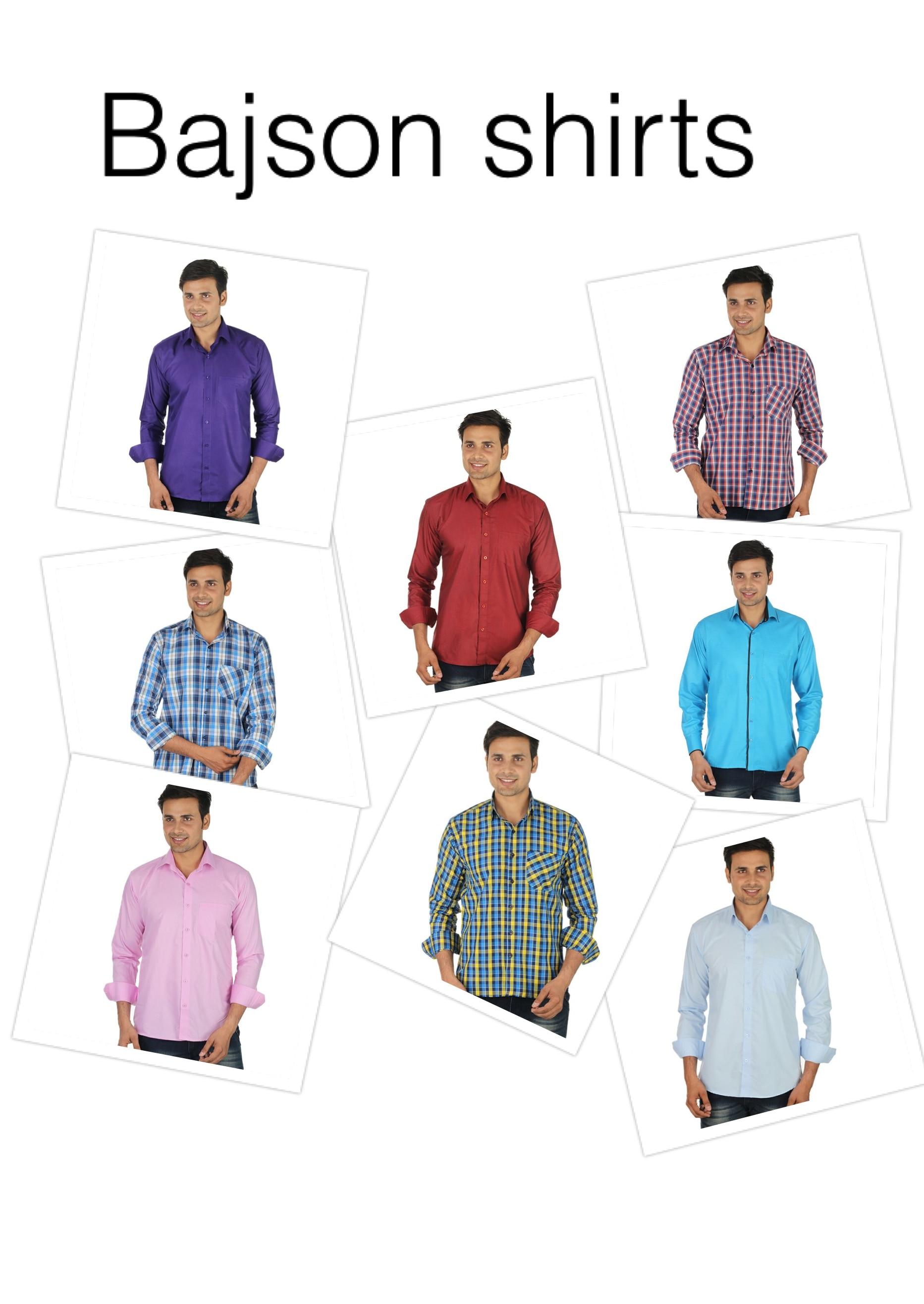 Shirts range 190-450