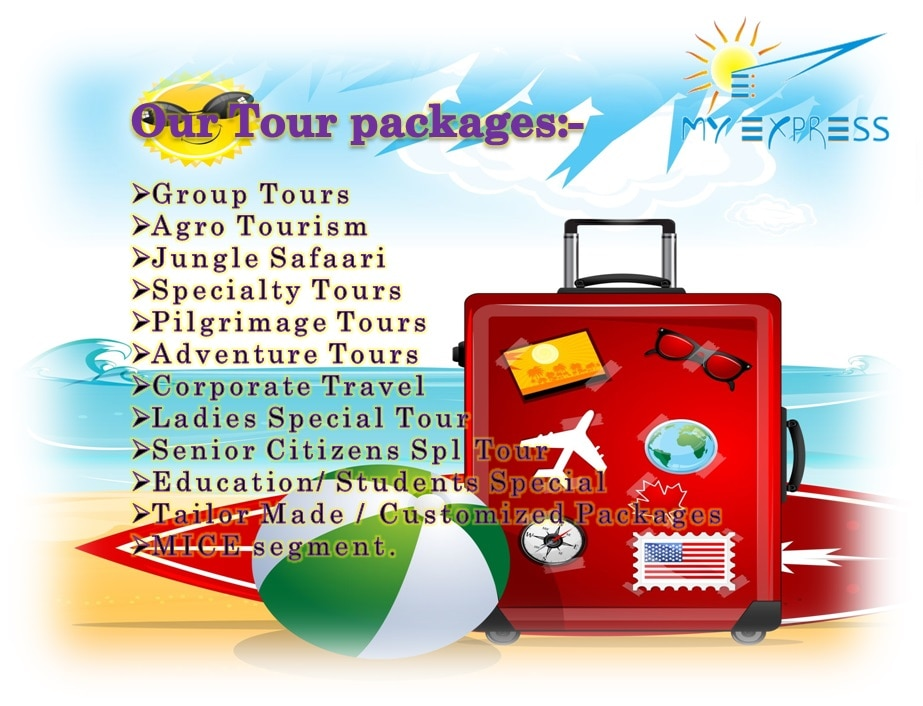 •	Travel Agents  •	Car Hire for outstation  •	Bus hire / rentals for outstation •	Railway Ticketing Agents  •	Air Ticketing Agents Domestic  •	Tour Operators  •	Bus Ticketing Agents  •	Tour Packages For Holiday  •	Holiday Tour Packages •	Holidays tours packages for Maharashtra •	Holidays tours packages for Domestic •	Holidays tours packages for International   In Kalewadi, Pimpri, Pune