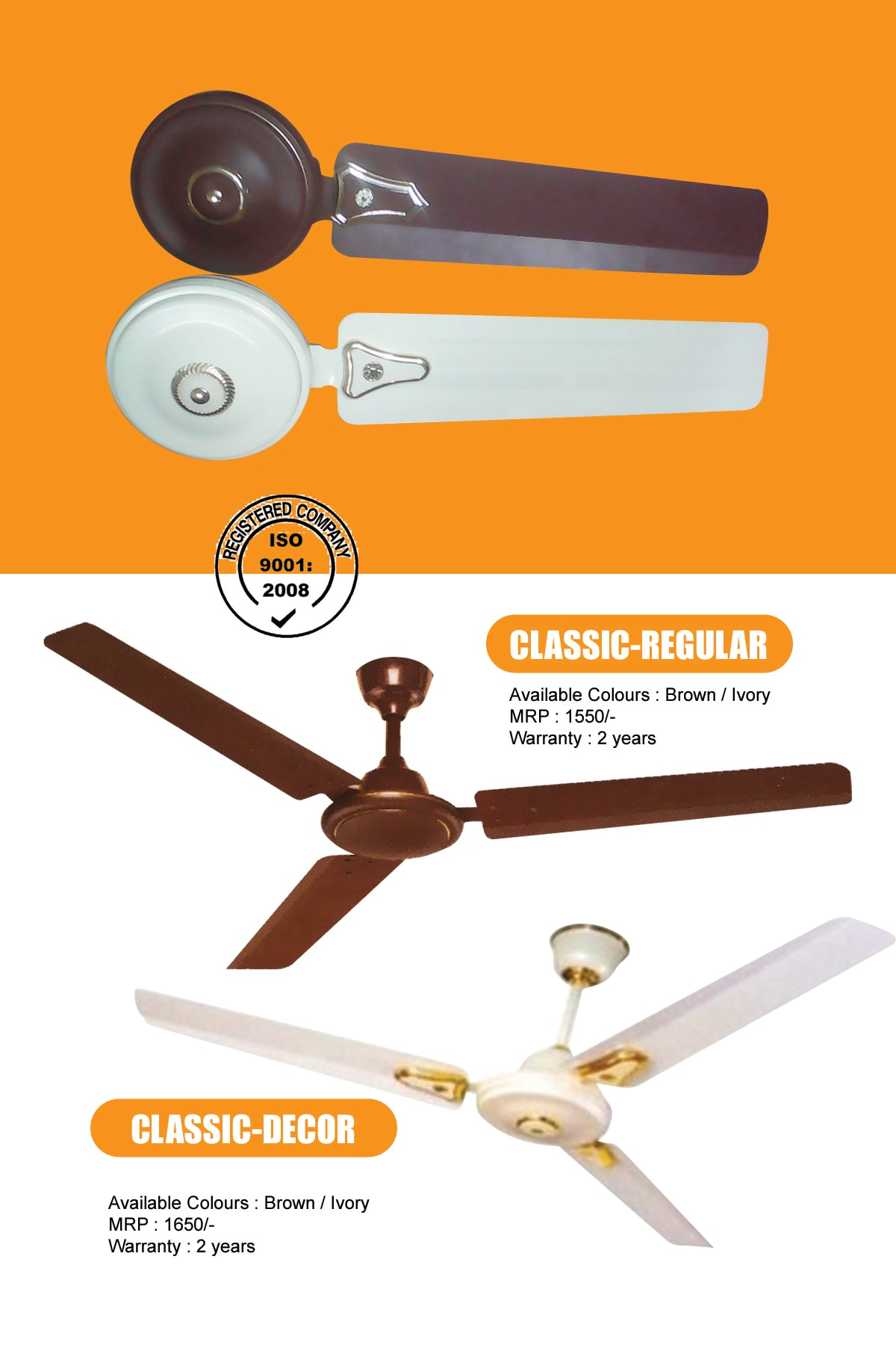 Now available 8 models in Telangana , AP, Karnataka and odisha  market! ceiling fans , table fans, Pedestal fans, Wall fans and coolers!