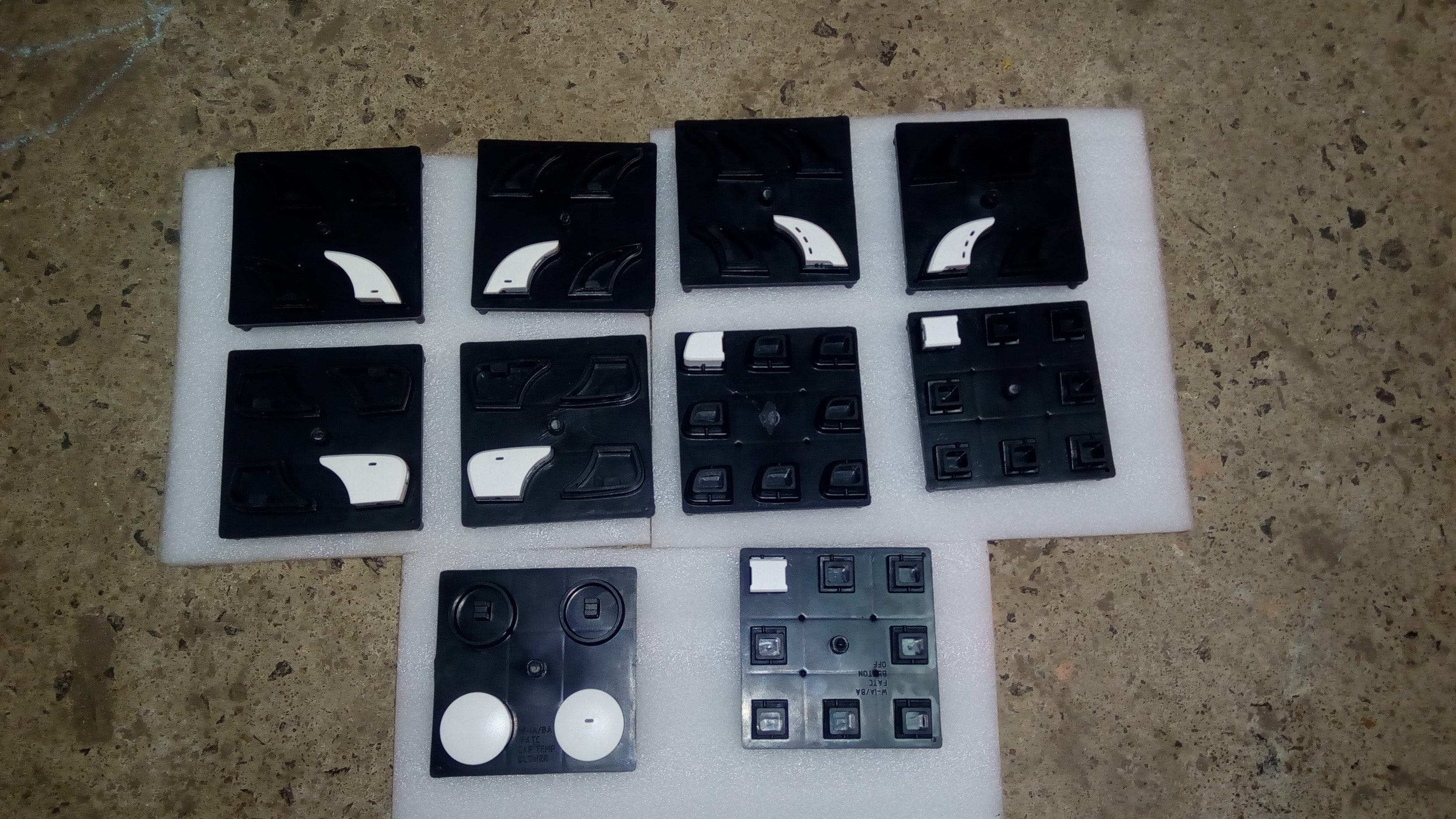 OUR NEW PLASTIC MOULDS