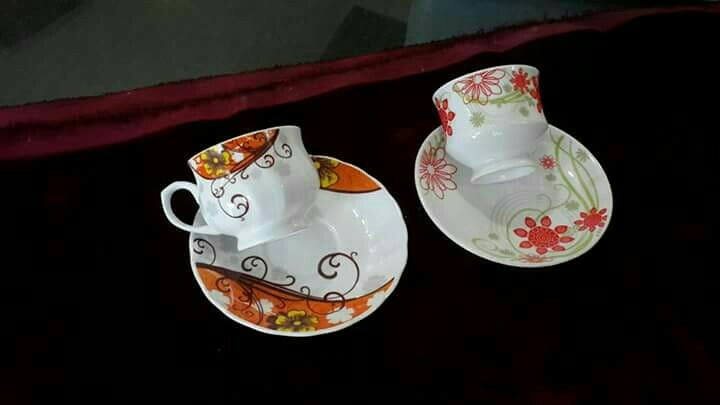 cup saucer in new designs nd shapes in china art ware
