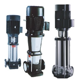 Vertical multistage stainless steel centrifugal pump: •  Applications •  Water supply of boilers & condensate system •  Cooling & air-conditioning system •  Water treatment, reverse osmosis system •  Industrial cleaning system •  Municipal water supply & boosting •  Pressure boosting for high rise buildings Performance range: Flow Range (Q)0.4-240.0 M3/hr Delivery HeadMax. 32.0 Bar Liquid Temperature-15 °C~ + 120 °C MOCSS-304 & SS-316 Speed (n)2900rpm or 3500rpm Power (P)up to 110kw Standard material All of the components connection with fluid created from 304 stainless steel and 316 stainless steel in request. The pump head and suction and eliminate can be created of cast iron on request as well. Description : Our Vertical multi stage centrifugal pump is reliable & service-friendly, Space-saving, suitable for slightly aggressive liquids Energy efficient. Close coupled vertical multistage pump with stainless steel parts which be driven by a standard TEFC motor, discharge and suction in the same line. Single phase motor up to 2.2kw, Class F and IP55 are standard. Standard supply for liquid temperature up to 70℃, high temperature pump are available on request. Mechanical seal is Tungsten Carbide/Graphite, other material is available on request