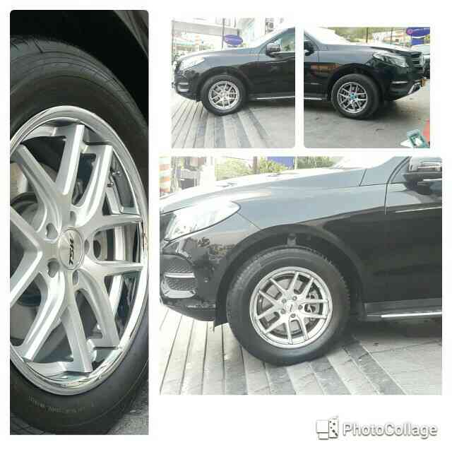 Alloys installed on mercedes GL...alloys available for all cars @motominds