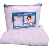 Snoopy Double Bed Quilted Mattress Protector (78 x 72 Inches) Cotton Cover Top Washable Dust Proof Water Resistant 78 x 72 Inches