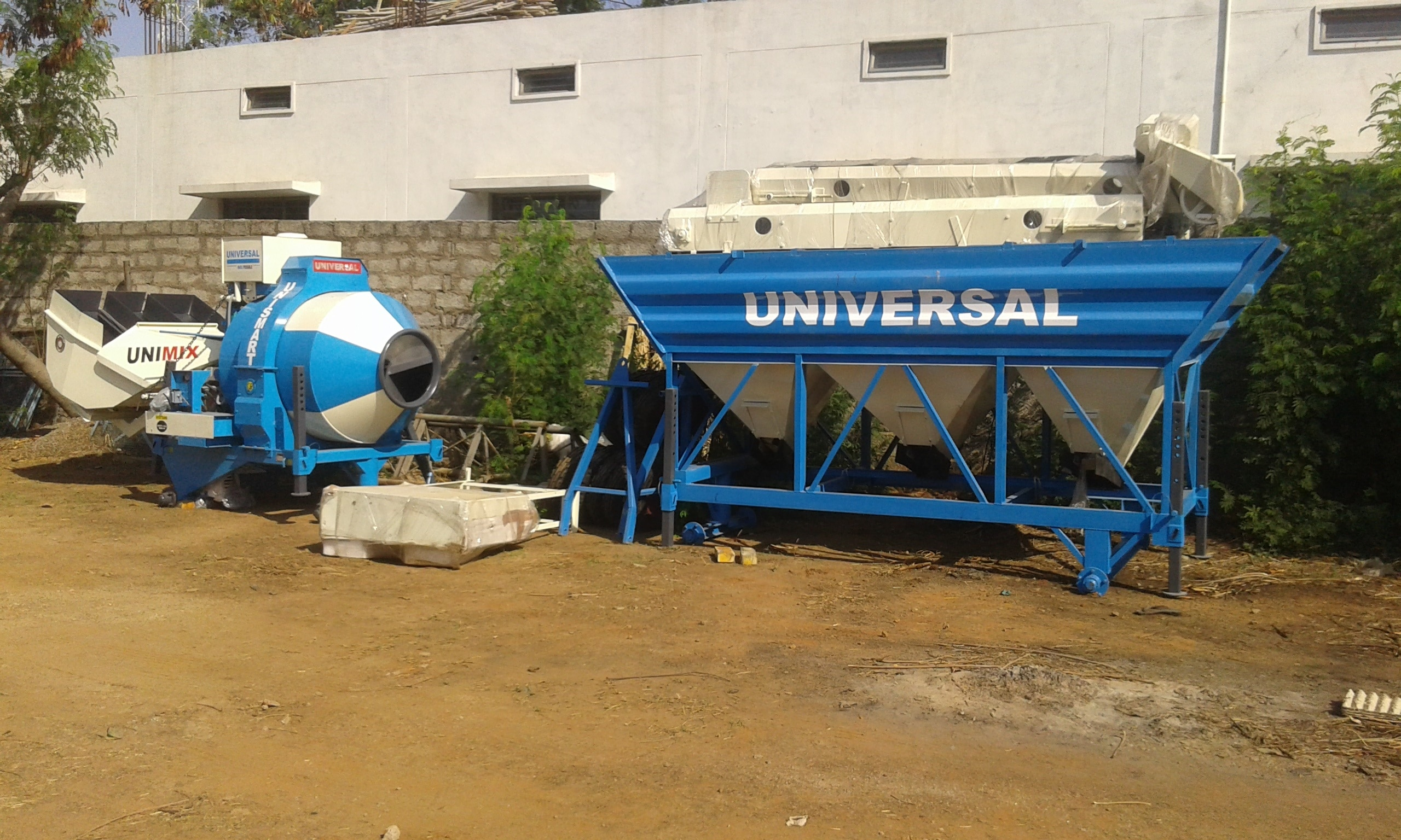 CONCRETE MOBILE MINI BATCHING PLANT CAPACITY 12 CU MTR PER HOUR