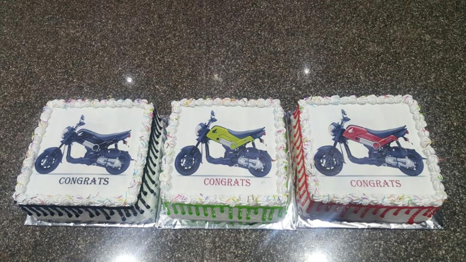 an Ice Cream Cake is a cake that incorporates ice cream. a popular form is a Three-Layer Cake, with a layer of ice cream between two layers of cake. for more details, or to place an order, http://www.nimscakencraft.com/