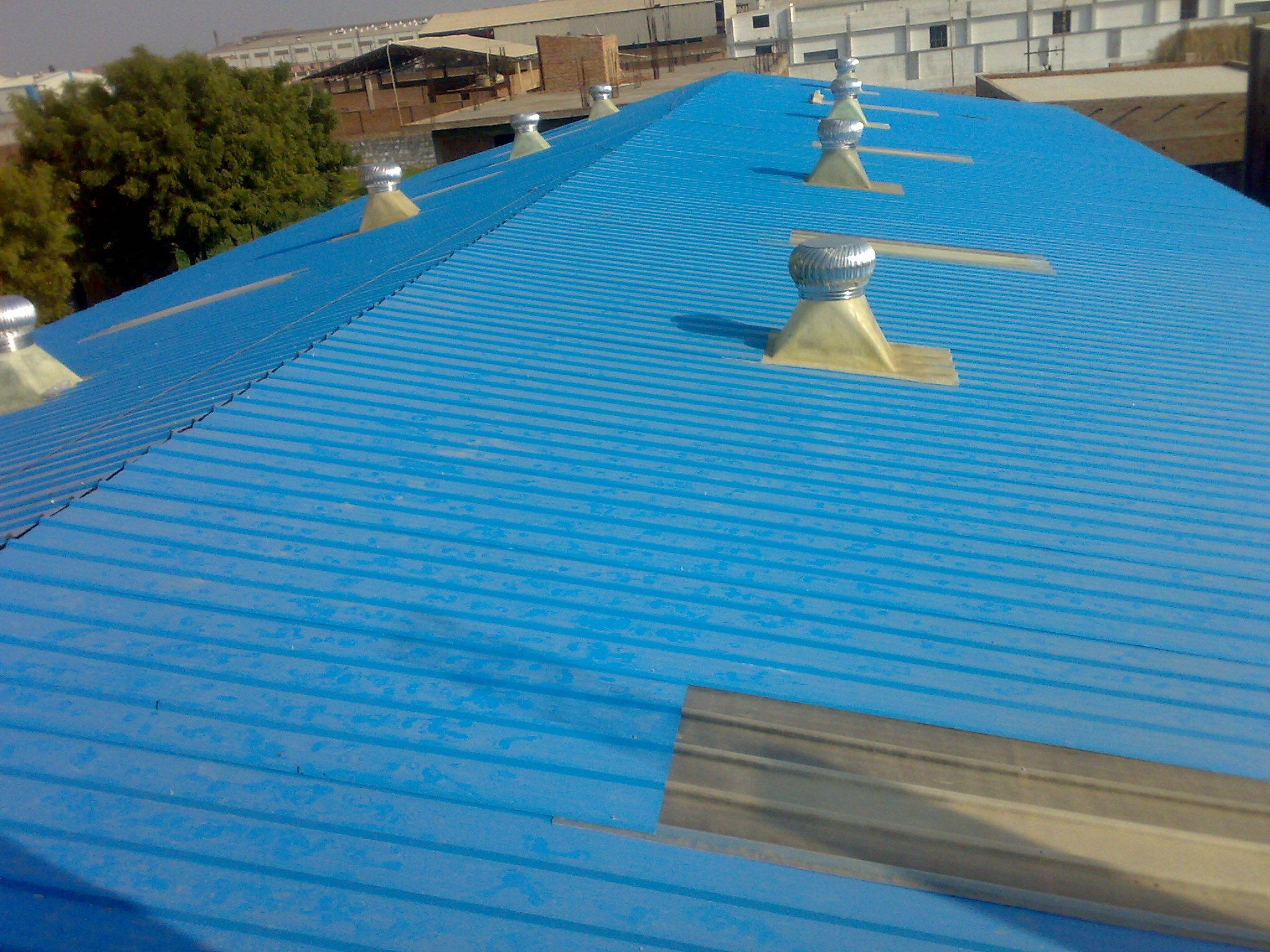 "The ""Colour Coated Roofing Sheets"" products is available in different profiles, which are ideal for application in both roof & wall, suited both for industrial and residential application."