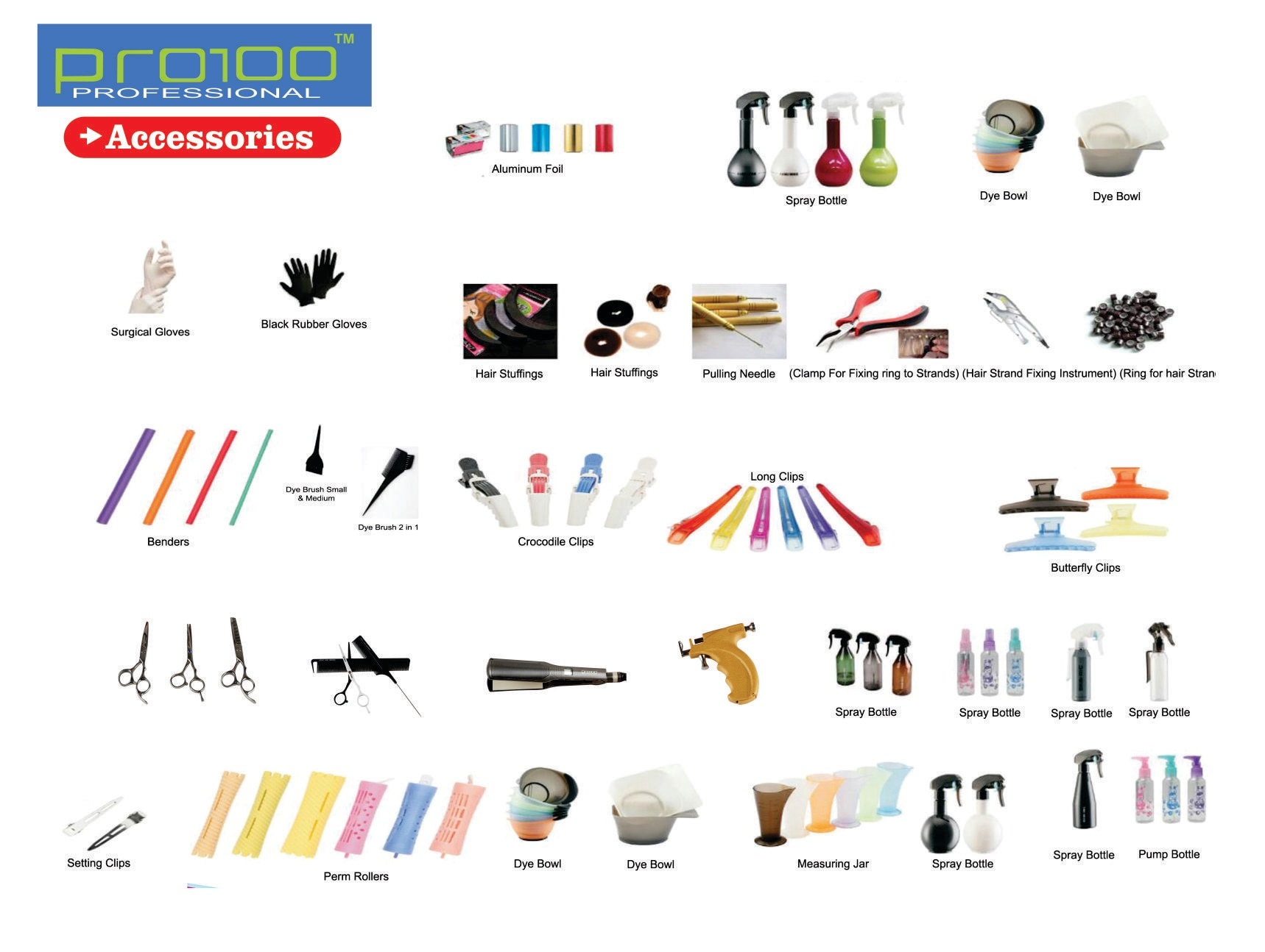 Contact us for a wide range of HAIR ACCESSORIES FOR SALON IN KOLKATA. We are a bulk SUPPLIER OF SALON AND HAIR ACCESSORIES IN KOLKATA.