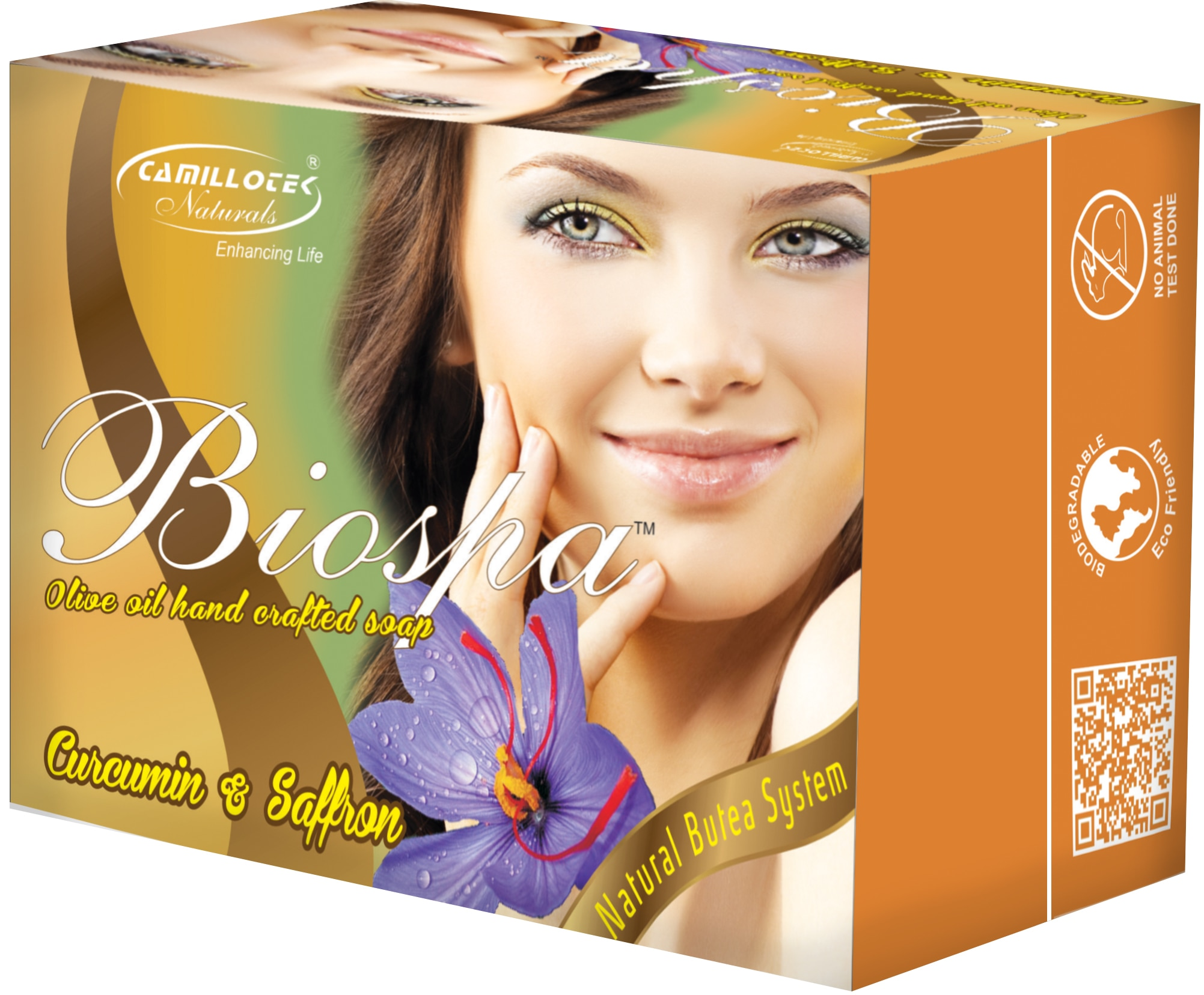 Biospa Soap are contains natural and pure essential oils in order to provide rich aroma.   Furthermore, the range does not contain synthetic fragrances, chemical preservatives, artificial colorants and detergents.   The range is processing in an utmost manner and known for its superior quality.