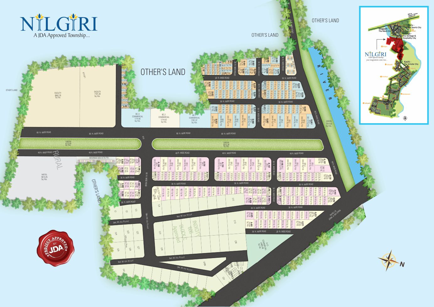 Plots on Ajmer Road