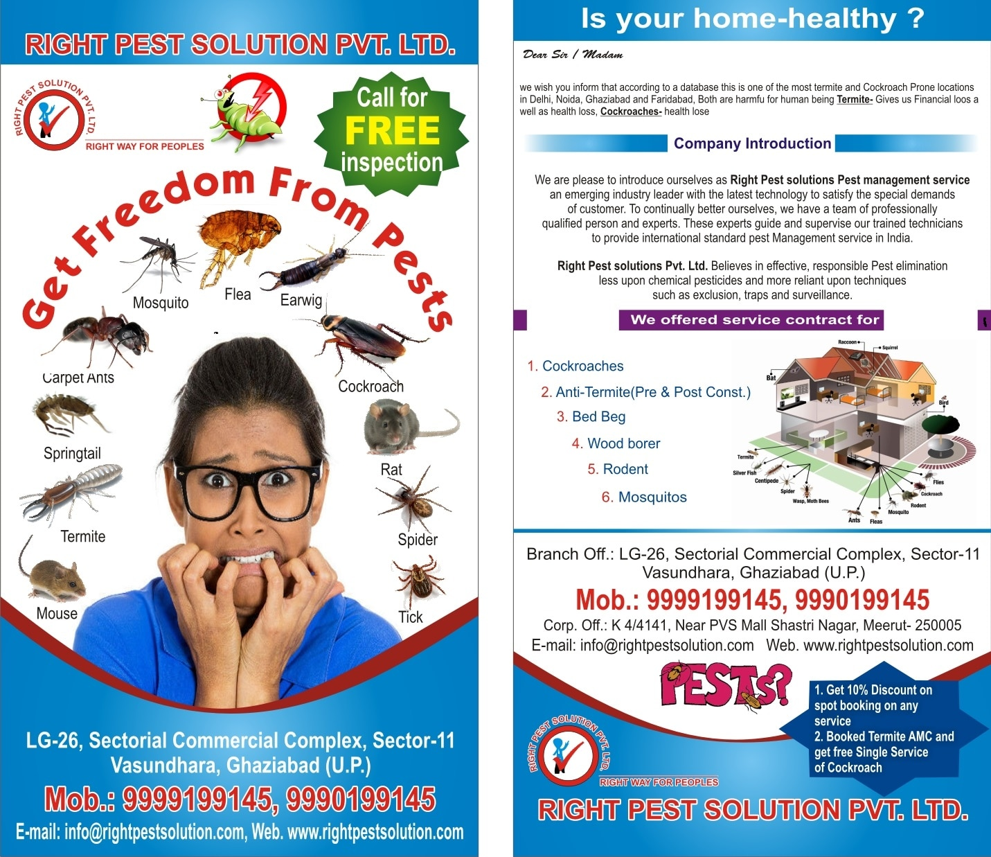 Pest control in Ghaziabad