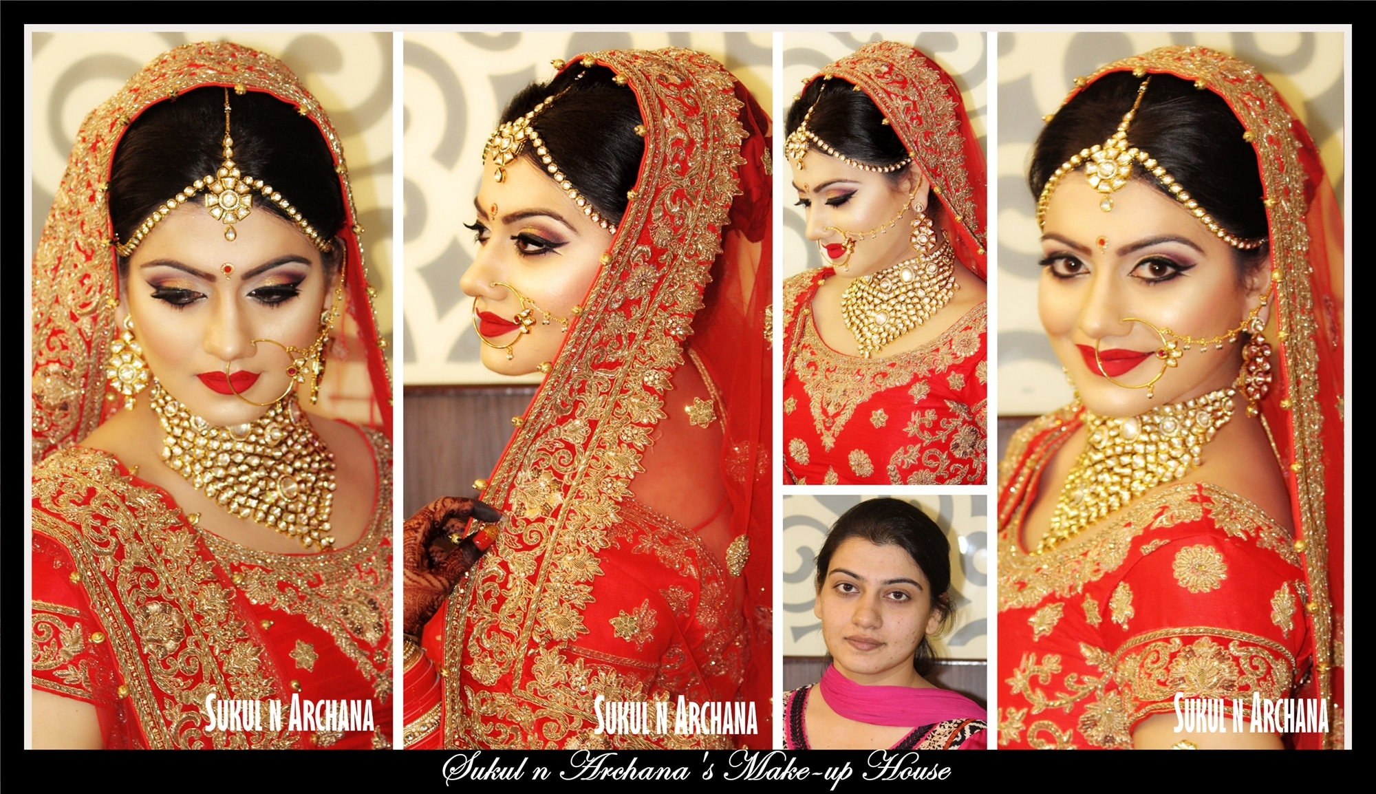Bridal Makeup artist in South delhi, visit Sukul n Archana's Makeup House and get princess looks on your D day. Visit our website at www.makeuphouse.co.in ...