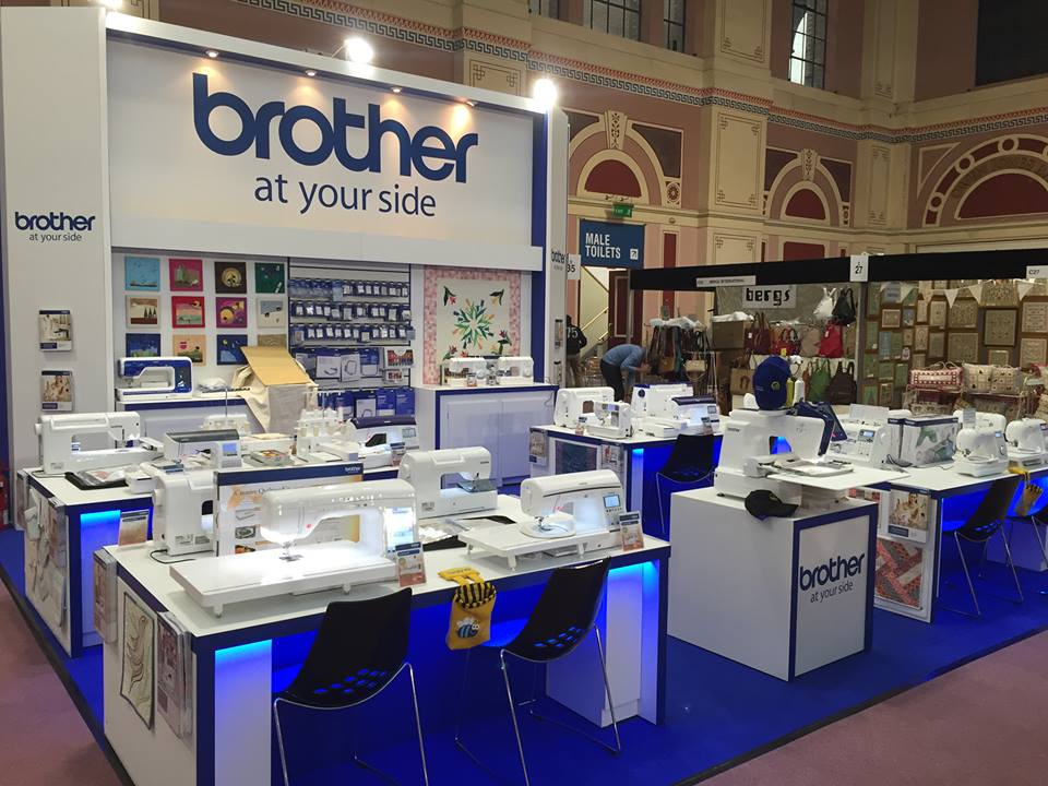 BROTHER VR 1 Single Needle Embroidery Machine With Free Arm Embroidery To Reach Areas like Caps, Sleeves And Bags With Ease. EMBROIDERY NOTION is Authorized Brother Embroidery And Home Sewing Machine  Distributor For  Pune , Maharashtra, India