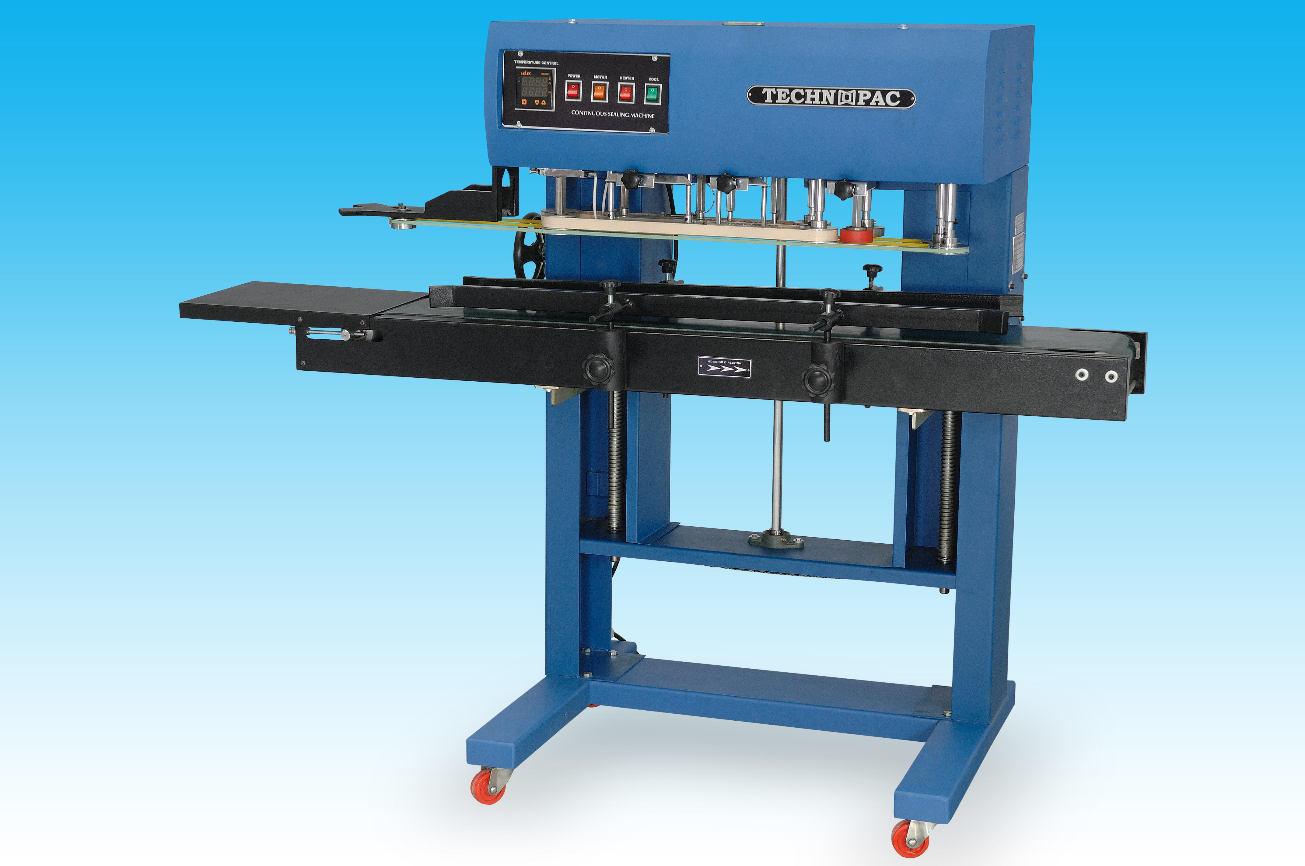 Pouch Sealing Machine  SP Automation is the Leading Manufacturers of Pouch Sealing Machine with 15+ years experience of this filed.  For more info about Pouch Sealing Machine: http://technopac.net.in/#product1