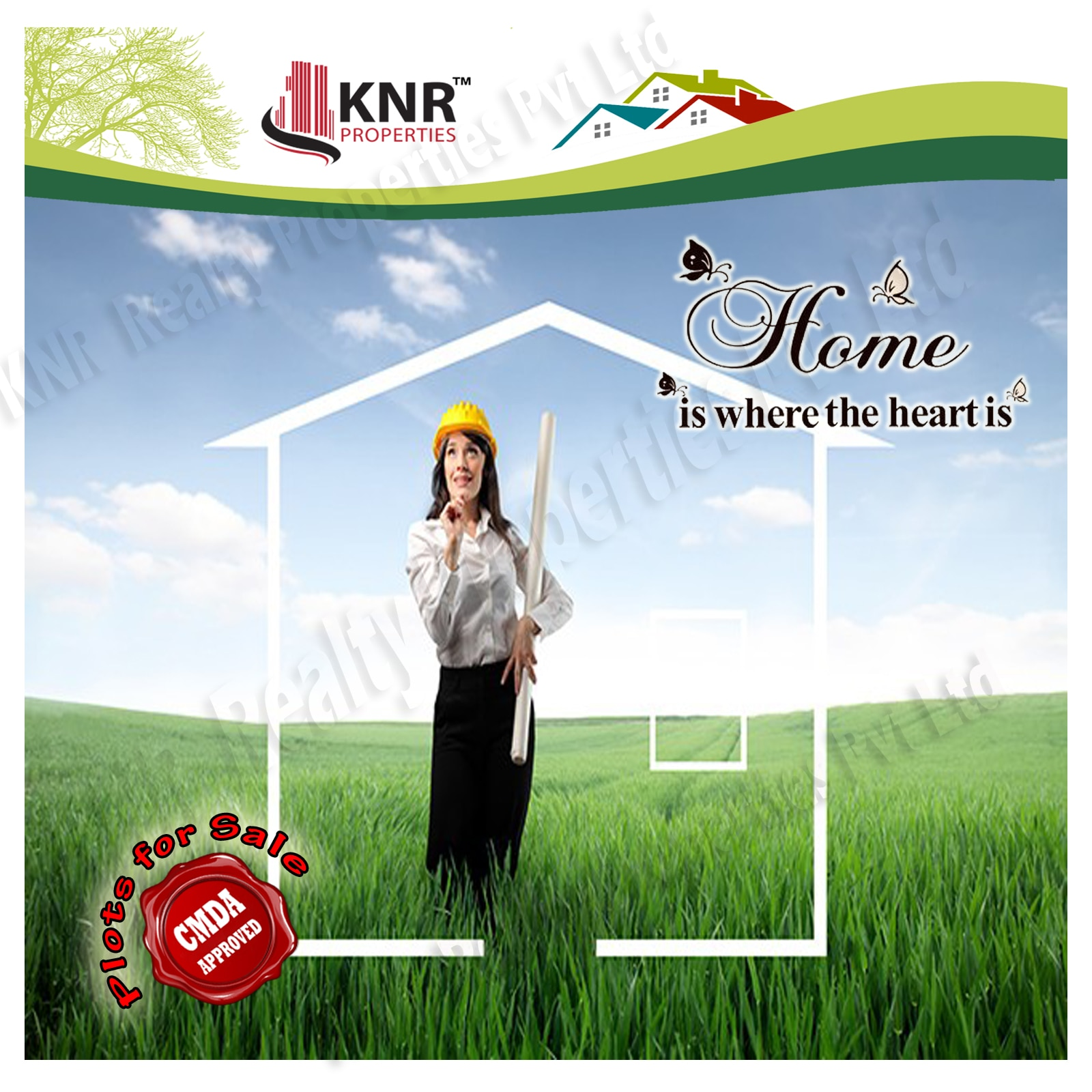 KNR Properties, the Best Real Estate Agent in Chennai offers CMDA Approved Plots For Sale in Poonamallee and Mangadu.  Thillai Nataraja Nagar, CMDA Approved Plots for Sale in Mangadu Golden City and Navasakthi nagar, CMDA Approved Plots for Sale in Meppur Sri Sai Nagar Phase I, II, III, within CMDA limit Plots for sale at Meppur. Sri Lakshmi Devi Nagar, within CMDA limit Plots for sale at Agaramel. for more details visit http://knrproperties.com/