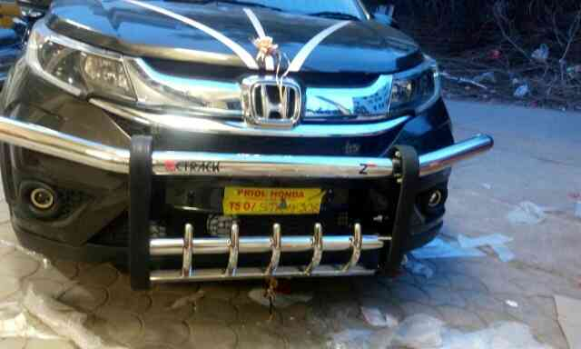 honda BRV front and rear safe bumpers avaliable now @motominds.