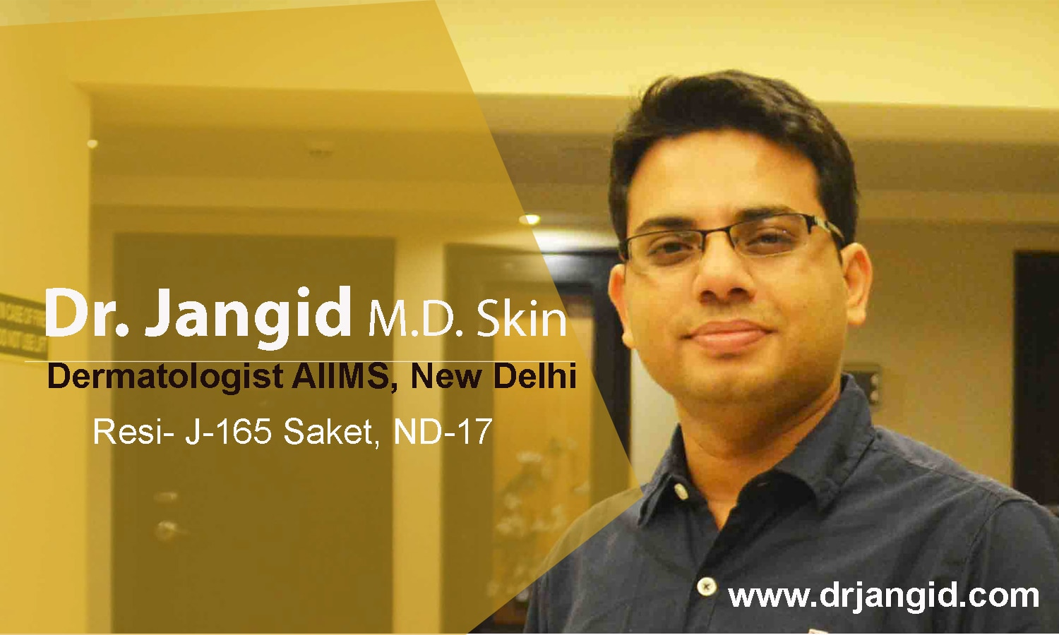 If You are looking for Best skin specialist in saket , Seek an appointment with Dr Jangid  ph : 9999557272 / 9266555500